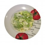 Pizza Kurier Fulmine  Grüner Salat